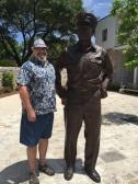 Statue of Admiral Halsey Fredericksburg, Tx