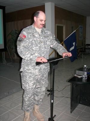 Preaching Warrior chapel