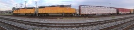 Union Pacific Train San Antonio